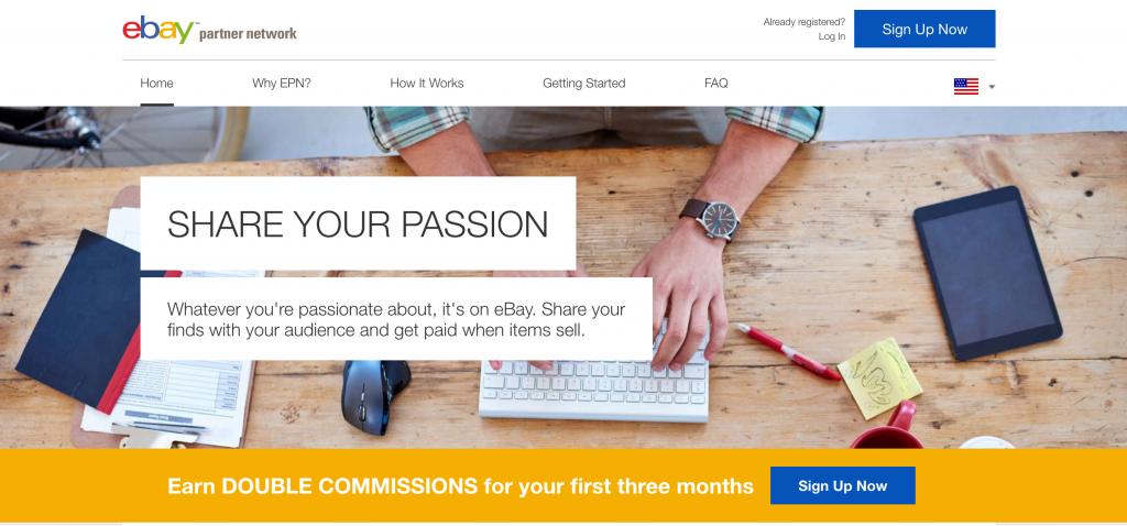 Ebay Partner Network - Affiliate Network